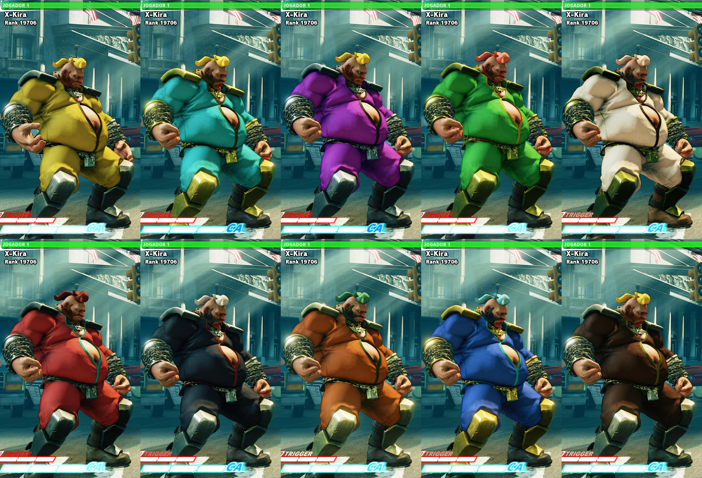 All colors for SF5 story and pre-order costumes 21 out of 21 image gallery