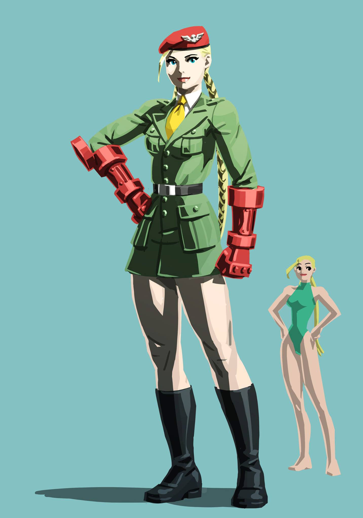 Street Fighter 5 story mode costume concept art 9 out of 13 image gallery