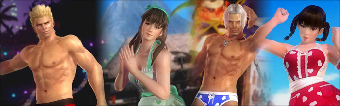 Dead Or Alive 5: Last Round Cast Members Get Frisky With New Valentineu0027s Day  Costumes For Every Character In The Game