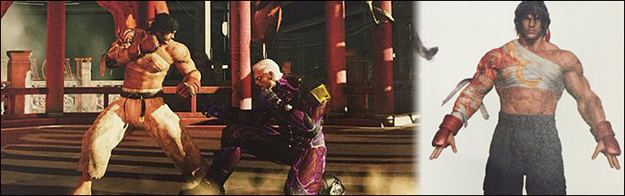 What Street Fighter 5 Almost Looked Like Concept Art And Hyper