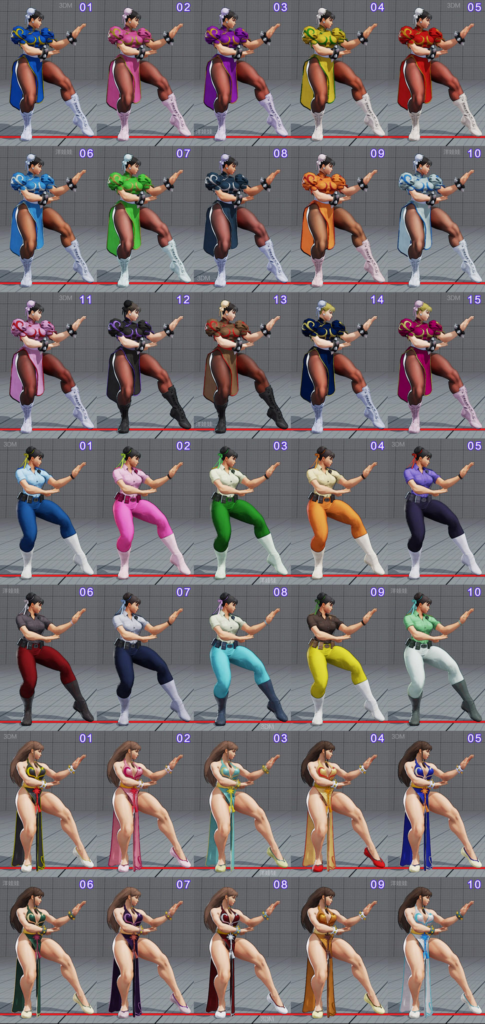 ... for all current costumes in Street Fighter 5 4 out of 18 image gallery Street