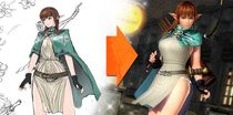 Dead or Alive 5 Last Round Halloween costume entries image #1