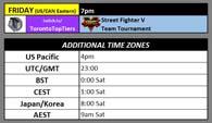 Toryuken 5 Schedule image #1
