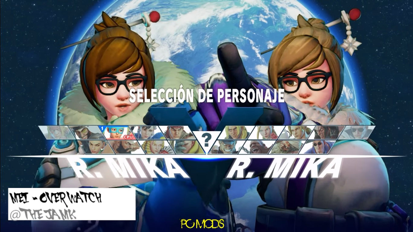 Mei from Overwatch modded into Street Fighter 5 1 out of 6 image gallery