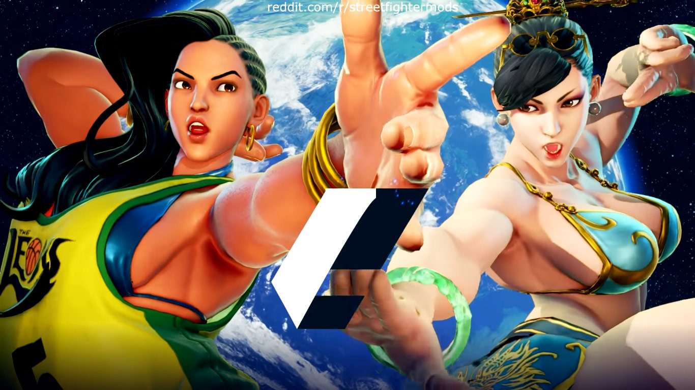 Summer Costumes For Karin Mika Chun Li Laura And Karin 1 Out Of
