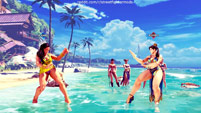 Summer costumes for Karin, Mika, Chun-Li, Laura, and Karin image #3