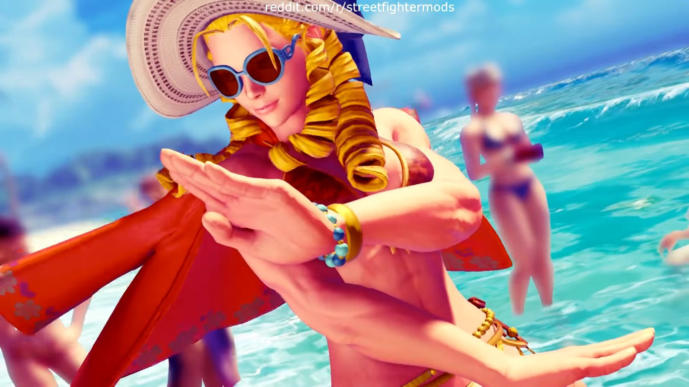Summer costumes for Karin, Mika, Chun-Li, Laura, and Karin 6 out of 12 image gallery