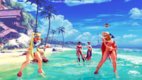 Summer costumes for Karin, Mika, Chun-Li, Laura, and Karin image #7