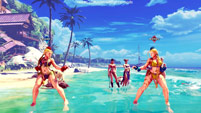 Summer costumes for Karin, Mika, Chun-Li, Laura, and Karin image #9