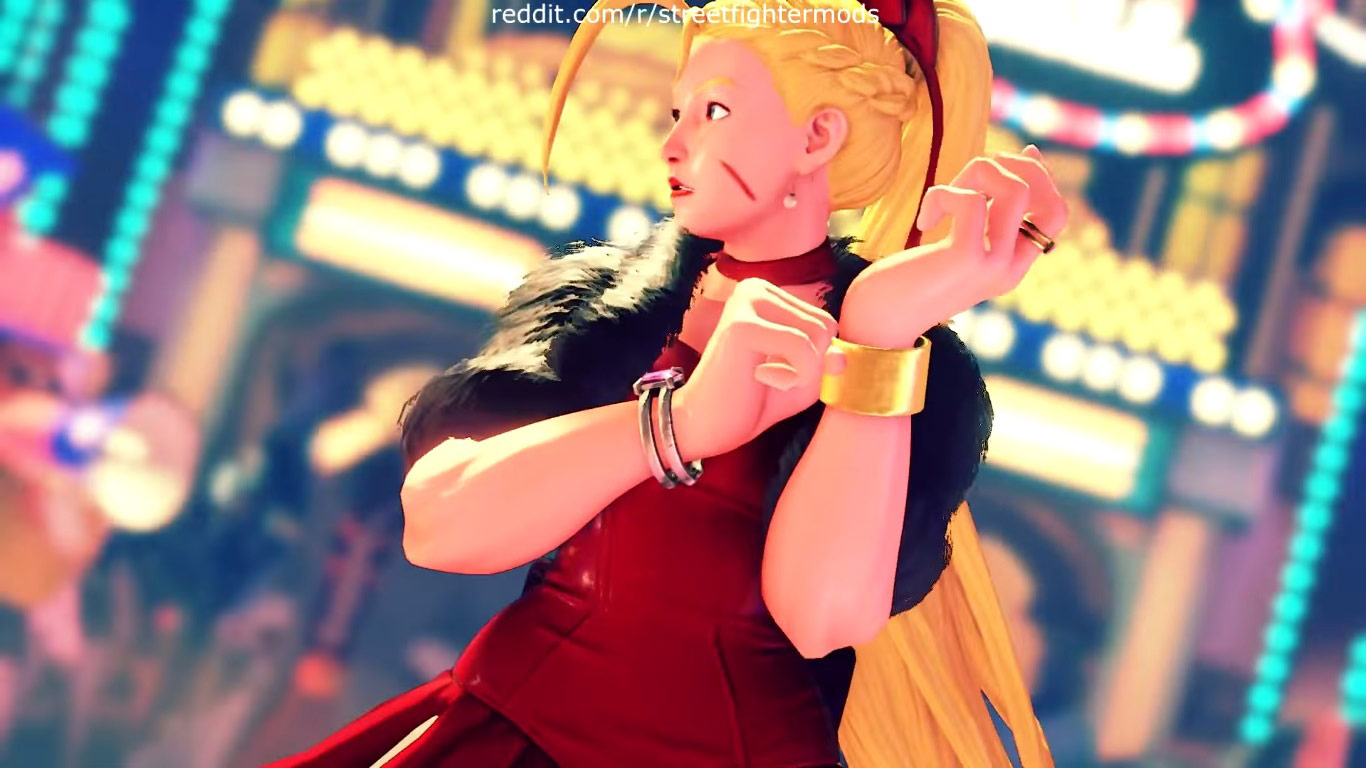 Summer costumes for Karin, Mika, Chun-Li, Laura, and Karin 11 out of 12 image gallery