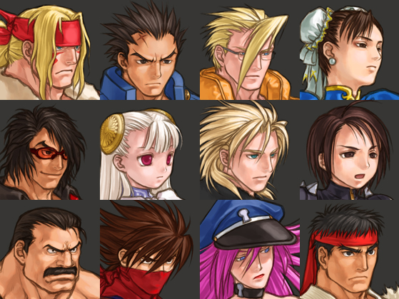 Capcom Fighting All-Stars Character Select 2 out of 7 image gallery