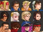 Capcom Fighting All-Stars Character Select  out of 7 image gallery