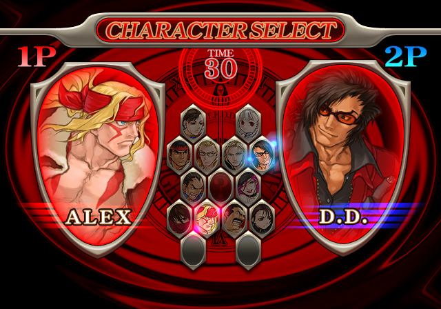 Capcom Fighting All-Stars Character Select 4 out of 7 image gallery