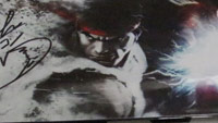 Street Fighter 5 faceplate signed by Ono image #2