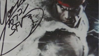 Street Fighter 5 faceplate signed by Ono image #4