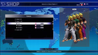 Redesigned Street Fighter 5 in-game shop  out of 4 image gallery