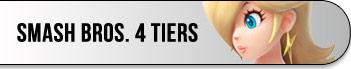 Smash 4 tiers