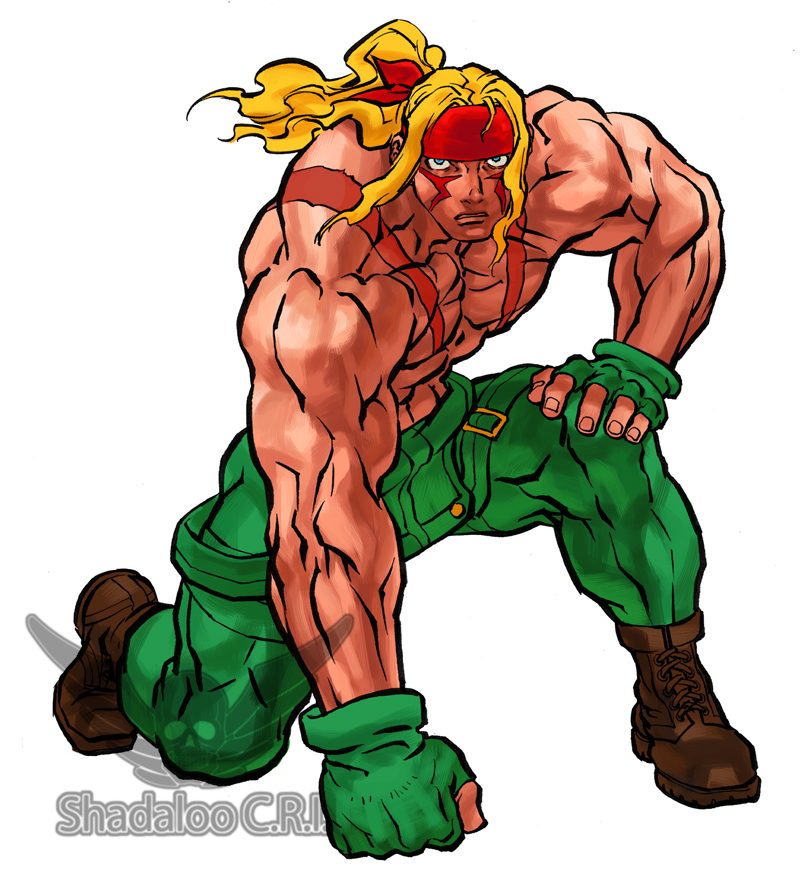 Street Fighter 3 Alex Artwork 6 Out Of 6 Image Gallery
