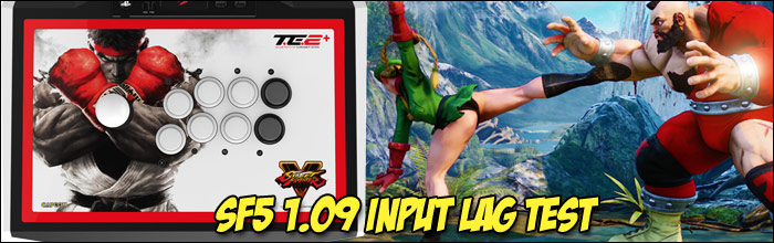 Street Fighter 5 has an average input lag of 6 5 now according to