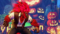 Street Fighter 5 Halloween stages and costumes image #3