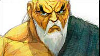 Street Fighter 4 concept sketches of Sakura, Blanka, Dan, Fei Long and Gouken image #5