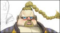 Street Fighter 4 concept sketches of Chun-Li, Ken, Balrog, Rufus, Sagat image #4