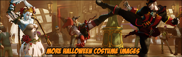 More images of the Halloween Street Fighter 5 costumes