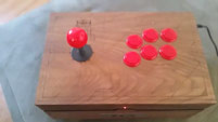 Ultra David's personalized fightstick from Red Bull image #3