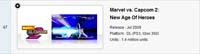 Marvel vs. Capcom 2 Digital Sales image #1