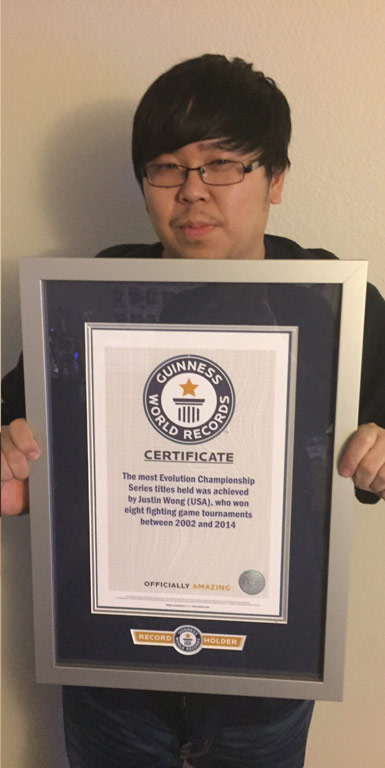 Justin Wong Guinness World Records 2 out of 2 image gallery