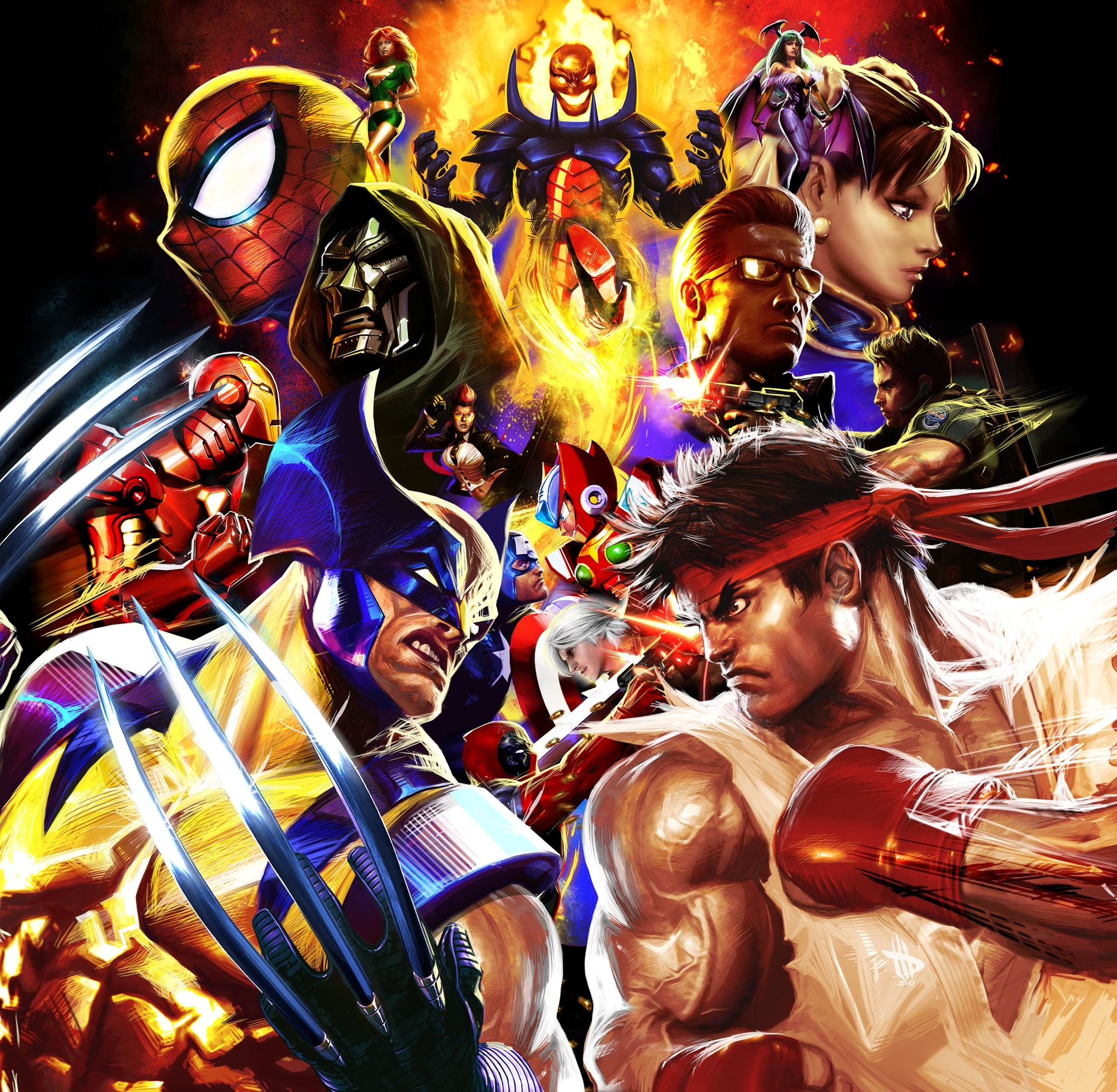 Marvel vs. Capcom 3 Art Gallery 5 out of 16 image gallery
