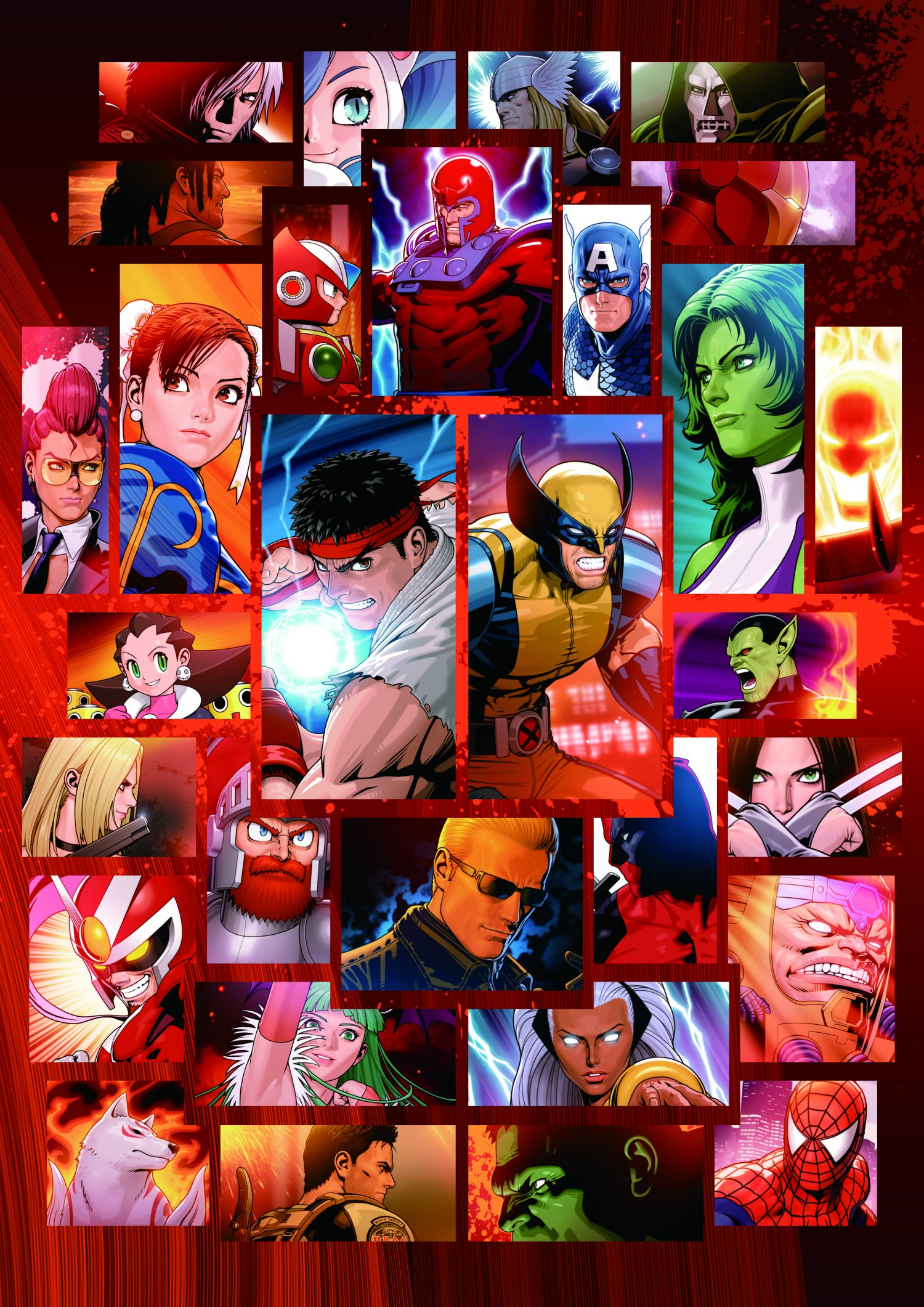 Marvel vs. Capcom 3 Art Gallery 6 out of 16 image gallery