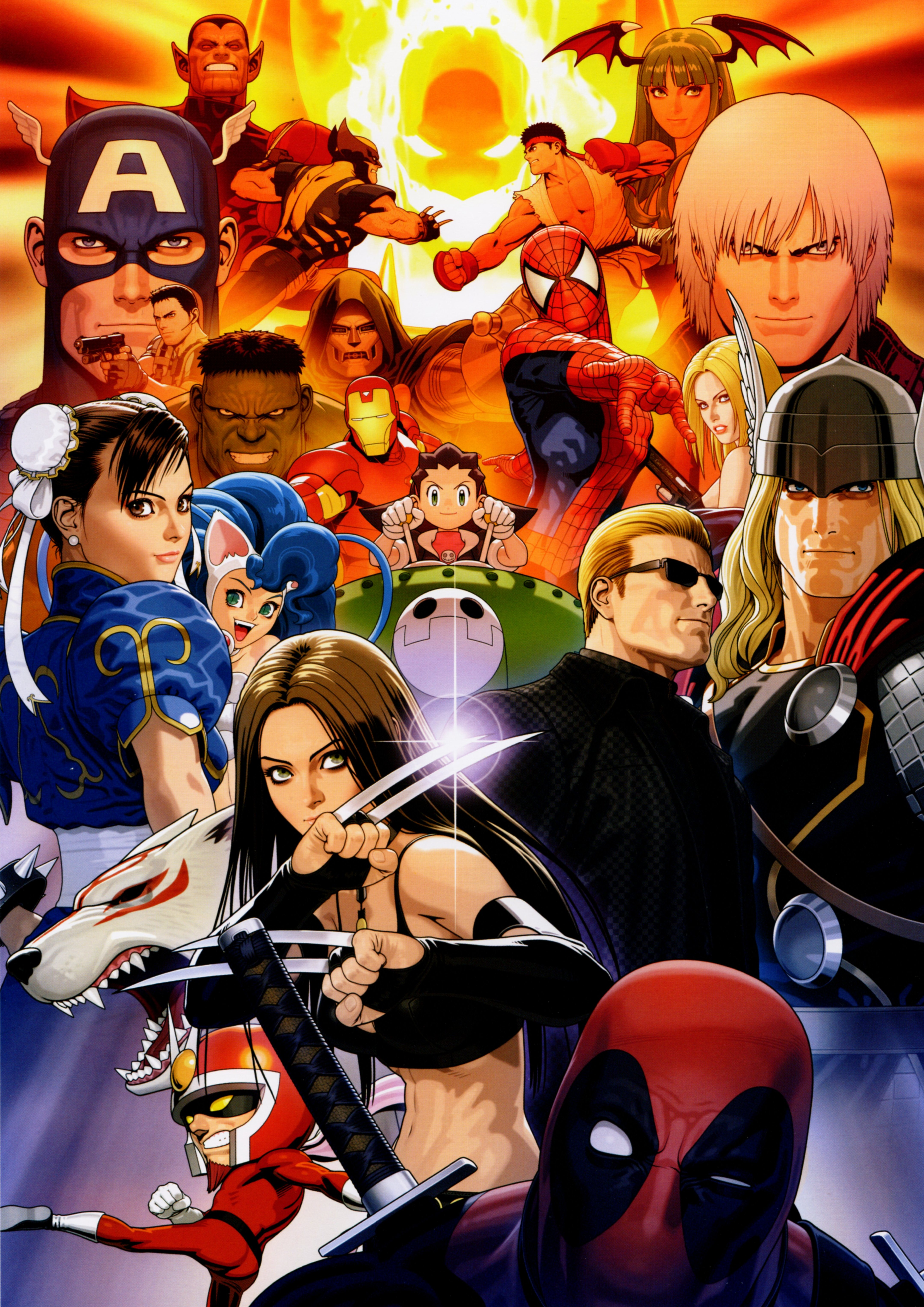 Marvel vs. Capcom 3 Art Gallery 7 out of 16 image gallery