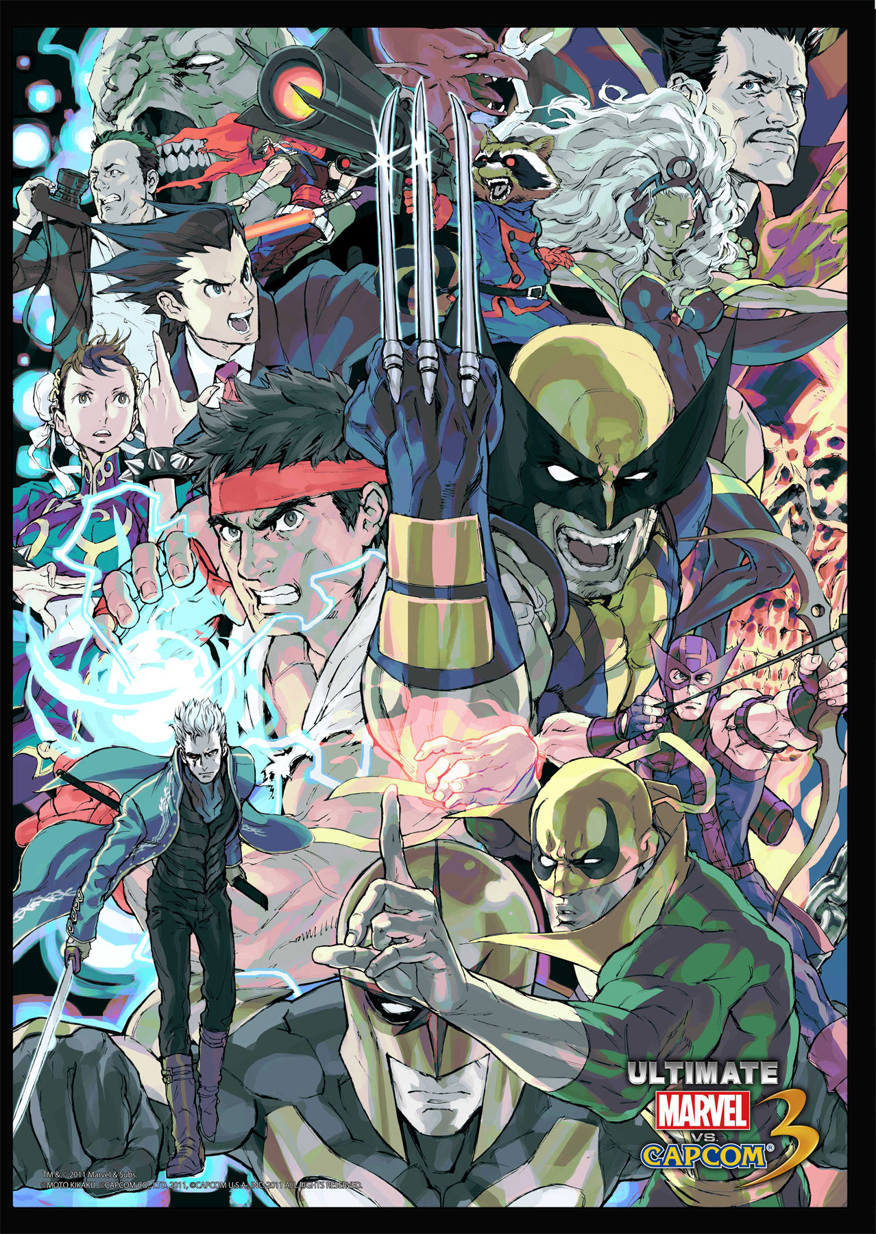 Marvel vs. Capcom 3 Art Gallery 11 out of 16 image gallery