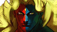 Street Fighter 3 Character Design Gallery - Gill image #2