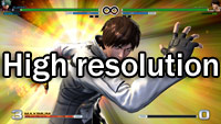 King of Fighters 14 graphic improvement comparison image #1