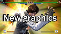 King of Fighters 14 graphic improvement comparison image #3