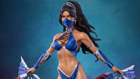 Kitana Mortal Kombat X statue from Pop Culture Shock image #6