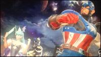 Morrigan and Captain America in Marvel vs. Capcom: Infinite images image #1