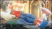 Morrigan and Captain America in Marvel vs. Capcom: Infinite images image #6