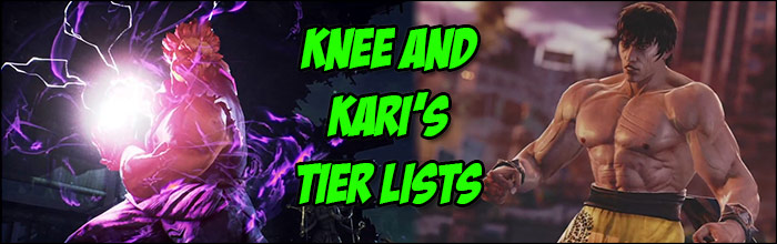 Knee And Kari S Tekken 7 Tier Lists Are Noticeably Different Both