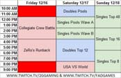 2GGT: ZeRo Saga One Year Anniversary Schedule image #1