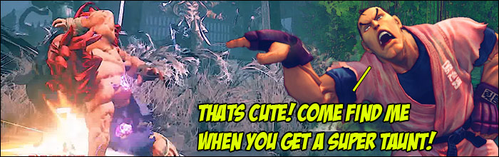 Taunt Combos Into Taunt And Otgs Air Fireballs Mid Combo On A