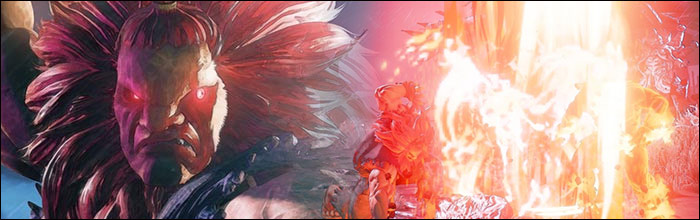 Akuma Can Continue His Combo After Critical Art In Street Fighter
