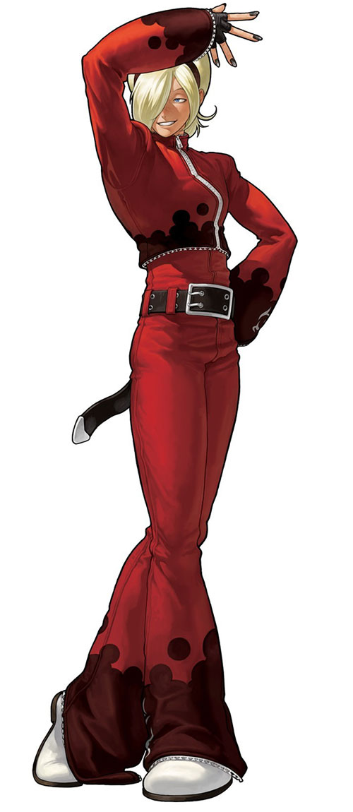 Character Design King Of Fighters : King of fighters xii official art gallery out