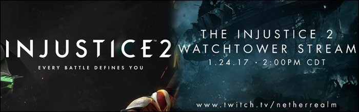 """Tyler Lansdown, a community specialist at Netherrealm Studios, has taken to Twitter to announce that a special """"watchtower stream"""" will be aired on Twitch ..."""