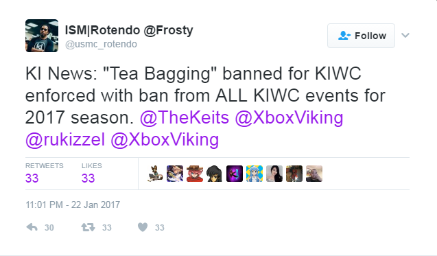 Killer Instinct World Cup teabag controversy 1 out of 2 image gallery