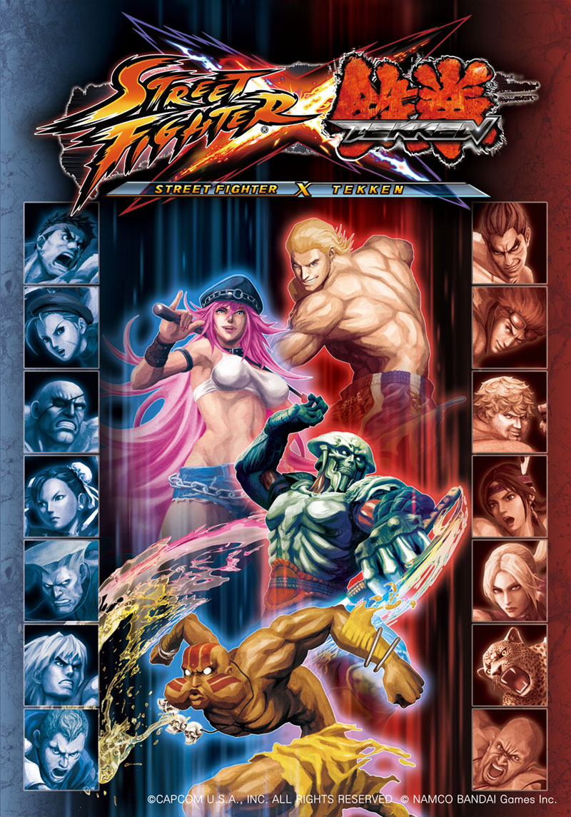 Street Fighter X Tekken Art Gallery 3 out of 55 image gallery