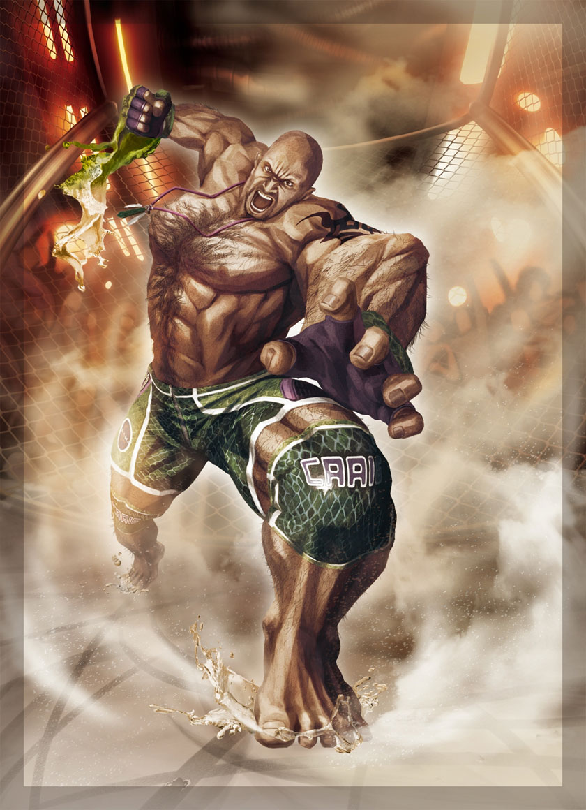 Street Fighter X Tekken Art Gallery 15 out of 55 image gallery