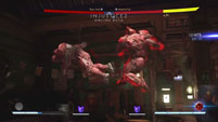 Atrocitus combo with and without gear image #2
